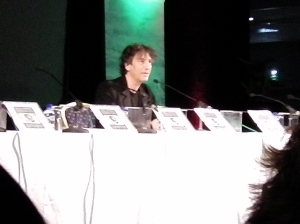Neil Gaiman speaking at WFC2013