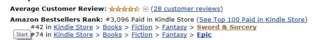 December status on Amazon UK