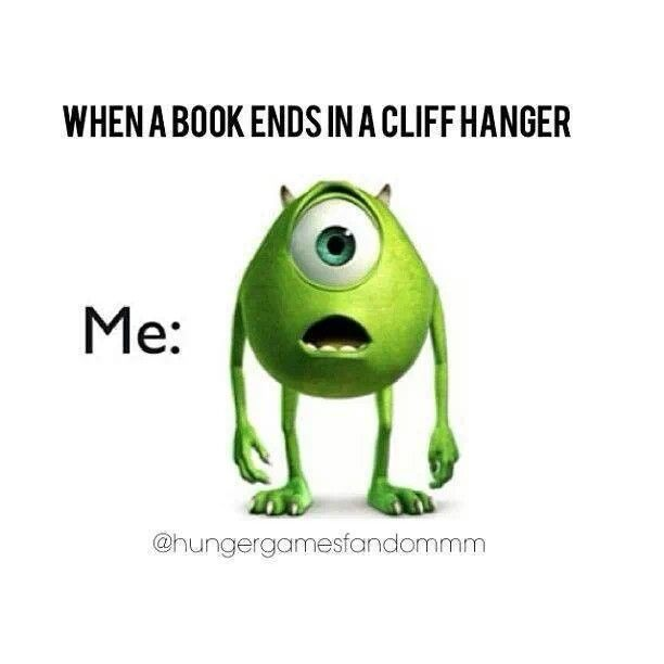 Please don't leave me hanging....  #authors #writers #cliffhangers (1/3)