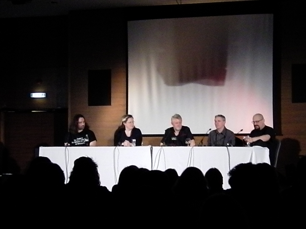 Jim Butcher at #Eastercon #Dysprosium 2015: The Ultimate #Urban #Fantasy panel (1/2)