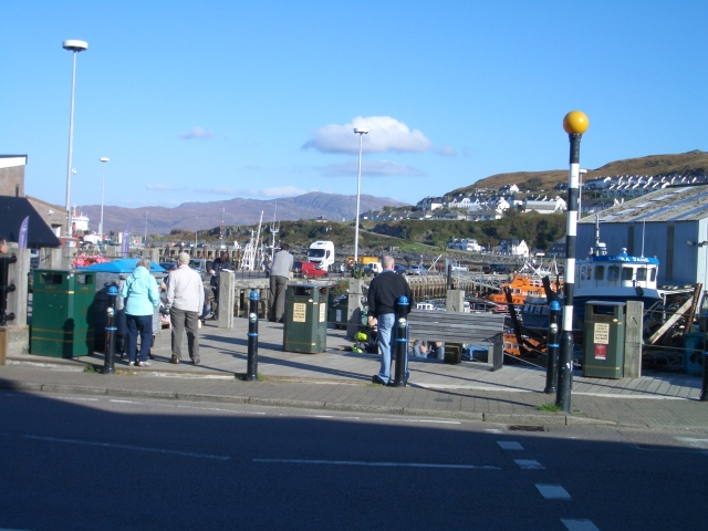 Mallaig - a typical fishing port on the West Coast, Scottish Highlands