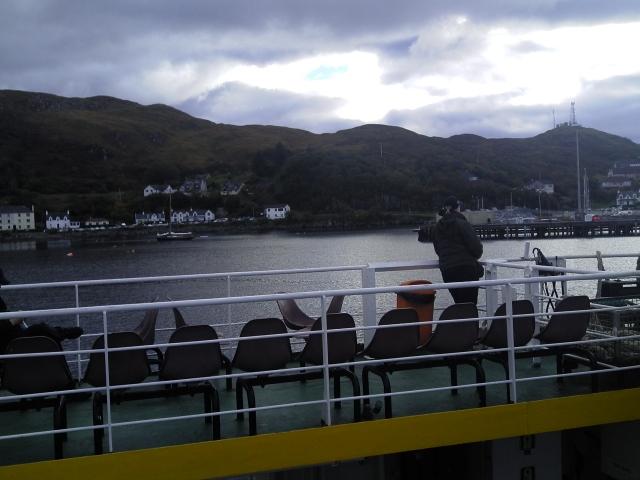 Skye ferry leaving Mallaig